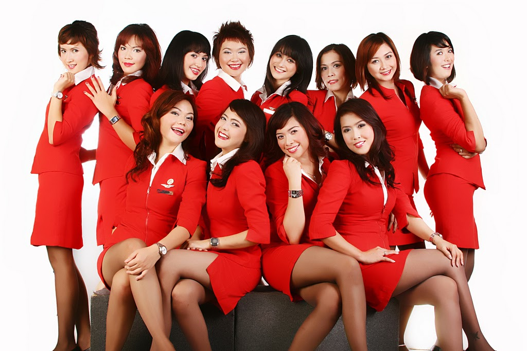 Air Asia uniformes