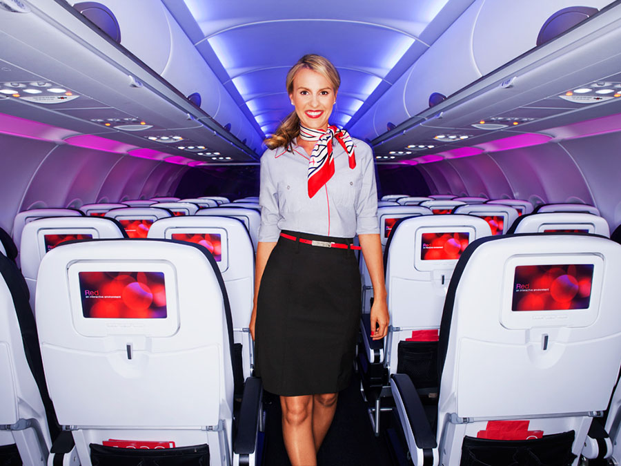 Virgin America uniforme