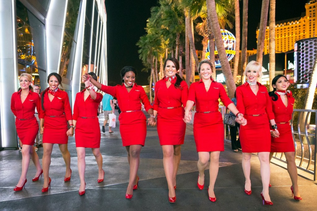 Virgin Atlantic uniformes