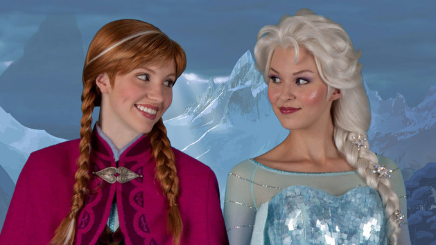 rencontre reine des neiges walt disney world