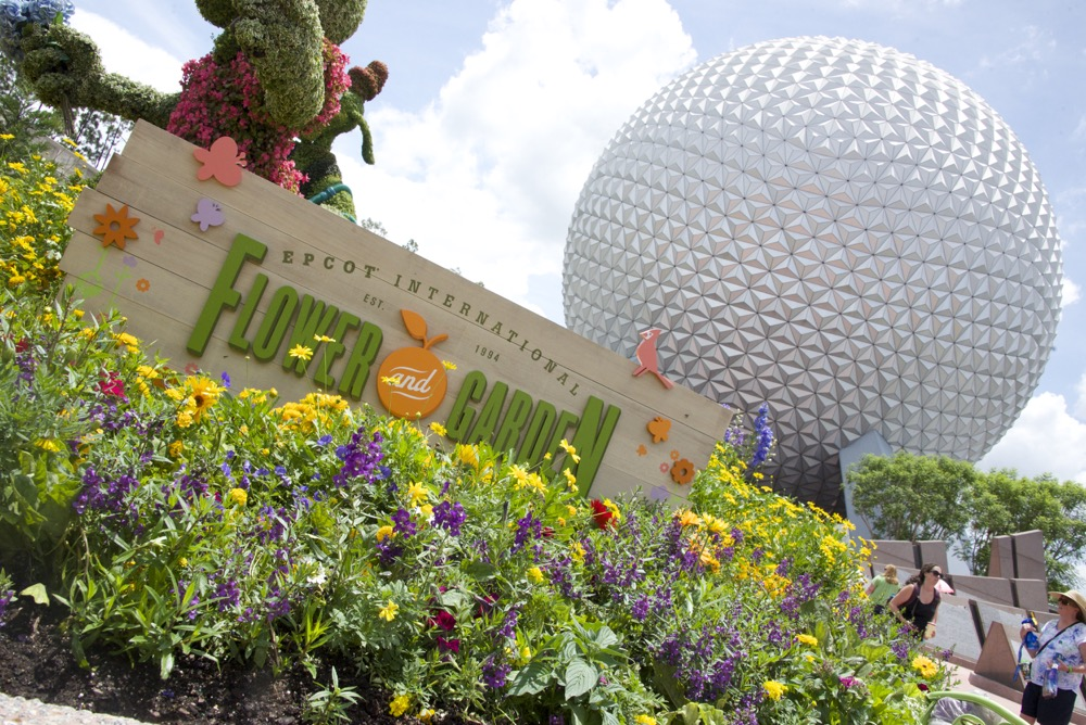 Festival Flower and Garden à Epcot
