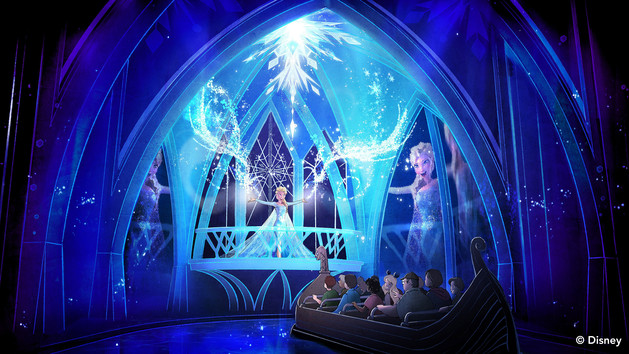 frozen ever after attraction disney world